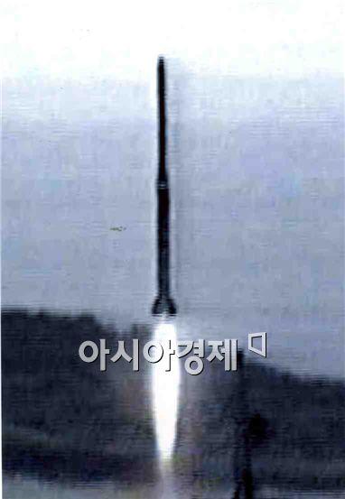 북한이 98년 8월에 발사한 광명성 1호