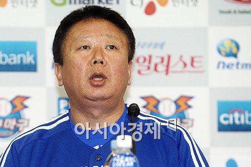 ▲선동렬 남자야구 국가대표팀 감독