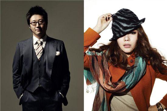 (Left) Park Shin-yang [