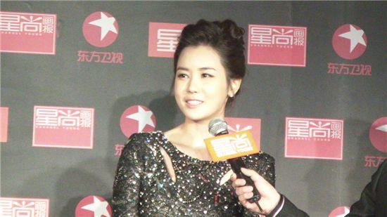 Actress Lee Da-hae at China Fashion Awards (CFA) [DBM Entertainment]