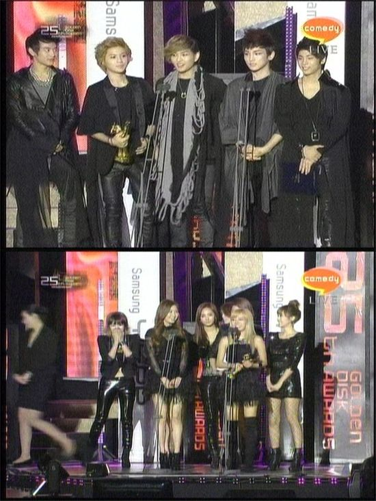 소녀시대·샤이니 '제25회 골든 디스크' 인기상 수상