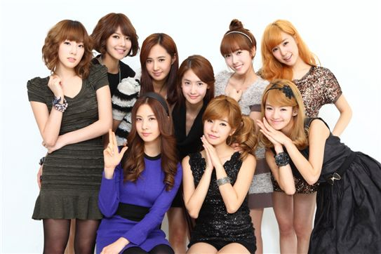 Female band Girls' Generation [Korean Association of Seoul Artists & Culture]
