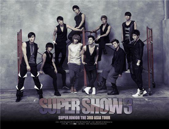 Korean idols Super Junior [SM Entertainment]