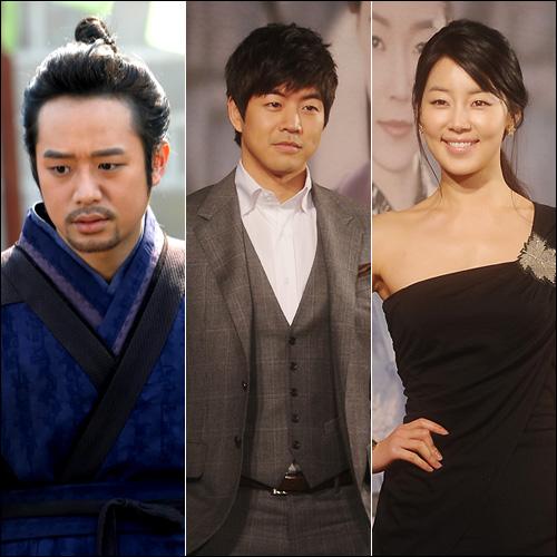 천정명, 이상윤, 한지혜(왼쪽부터)