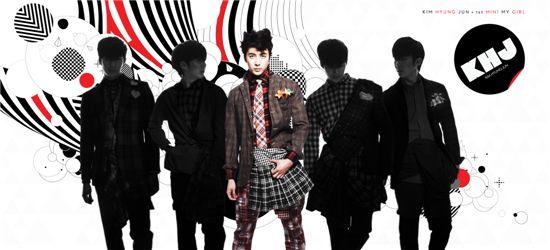 Album cover of Kim Hyung-jun's solo album [S-Plus Entertainment]