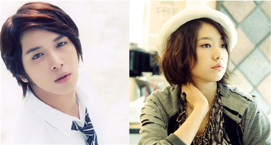CNBLUE leader Jung Yong-hwa (left) and actress Park Shin-hye (right) [FNC Music/4HIM Entertainment]