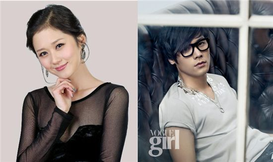 Actress Jang Nara (left) actor Choi Daniel (right) [Official Jang Nara website/Vogue Girl]