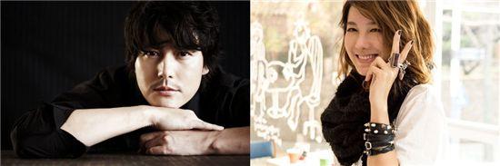 Jung Woo-sung and E Ji-ah [Taurus Films/KEYEAST]