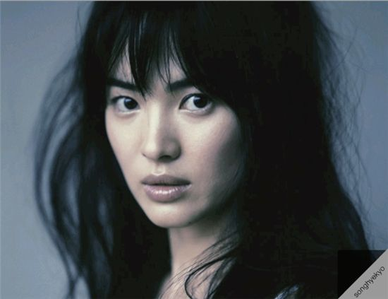 Actress Song Hye-kyo [Official Song Hye-kyo website]