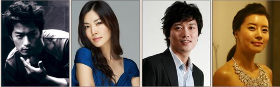 Starting from left: Joo Jin-mo, Kim So-yeon, Park Hwi-soon and Yoo Sun [Cinema Service]