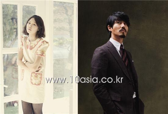 Korean actress Kong Hyo-jin (left) and actor Cha Seung-won (right) [10Asia]