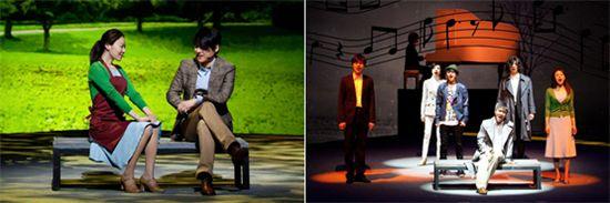 "Scenes from musical ""Gwanghwamun Love Story"" [Gwanghwamun Love Story]"