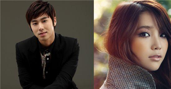 TVXQ member U-Know Yunho (left) songstress IU (right) [SM Entertainment/Loen Entertainment]