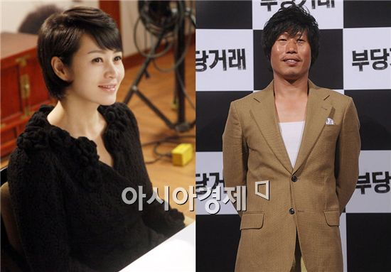 Kim Hye-soo (left) and Yu Hye-jin [Asia Economic Daily]