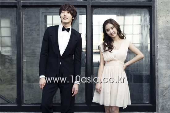 Jung Il-woo and Kim So-eun [Lee Jin-hyuk/10Asia]