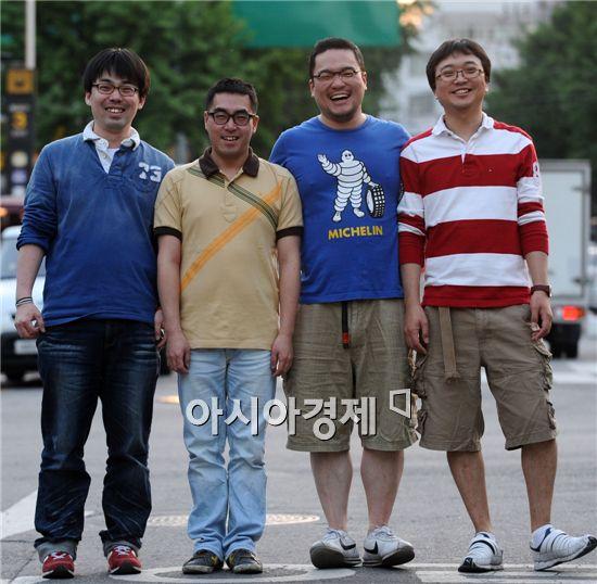 '종로의 기적'의 정욜, 소준문, 이혁상 감독 & 장병권(왼쪽부터)