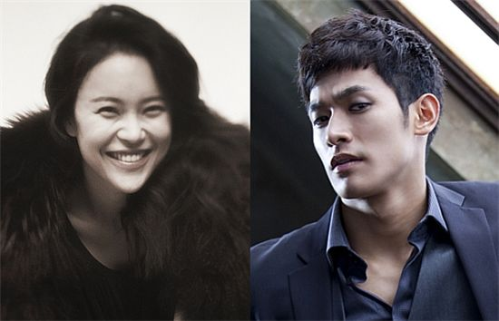 Baek Ji-young (left) and Jung Suk-won [WS Entertainment / Forestar Entertainment]