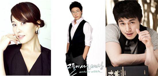 Starting from left: Kim Suna [King Kong Entertainment]/Um Ki-jooon [KBS]/ Lee Dong-wook [KBS ]