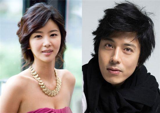Park Sol-mi (left) and Han Jae-seok [Dabom Entertainment/Exerion Entertainment]