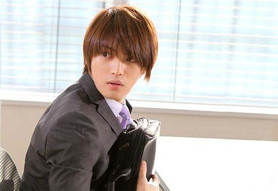 "TVXQ member Hero Jaejoong in Japanese TV series ""Hard to Say I Love You"" [Fuji TV]"