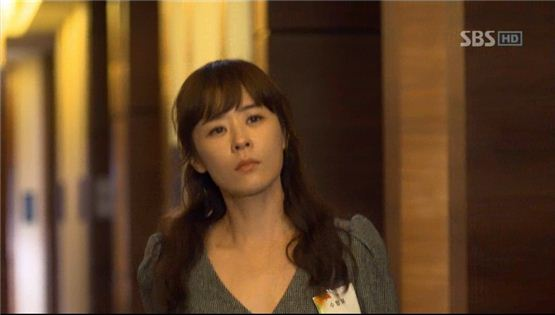 "Choi Gang-hee from a scene in SBS TV series ""Protect the Boss"" [SBS]"