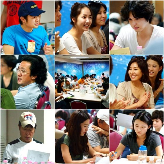 "Cast of new KBS TV series ""Glory Jane"" [3HW]"