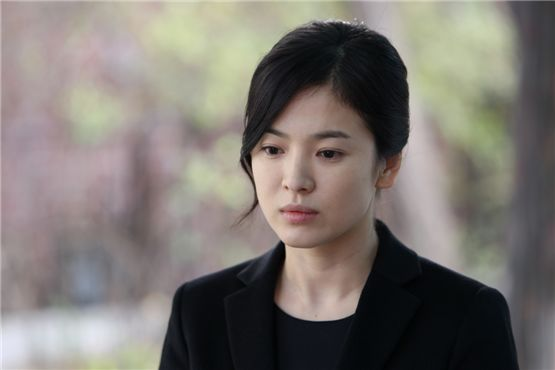 "Actress Song Hye-kyo in her upcoming film ""Today"" [Film Camp]"