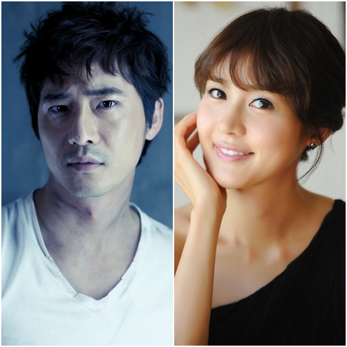 Kang Ji-hwan (right) and Sung Yu-ri (left) [CJ Entertainment]