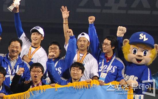 '우승주역' 장원삼, 5년 불운 떨쳐낸 영광의 상처