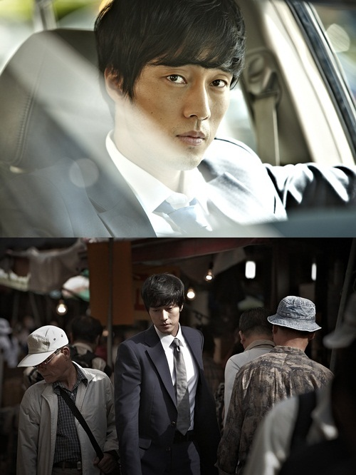 "So Ji-sub in movie ""Office Worker"" (translated title) [Showbox]"