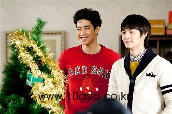 Park Min-woo and Cho Yoon-woo [Lee Jin-hyuk/10Asia]