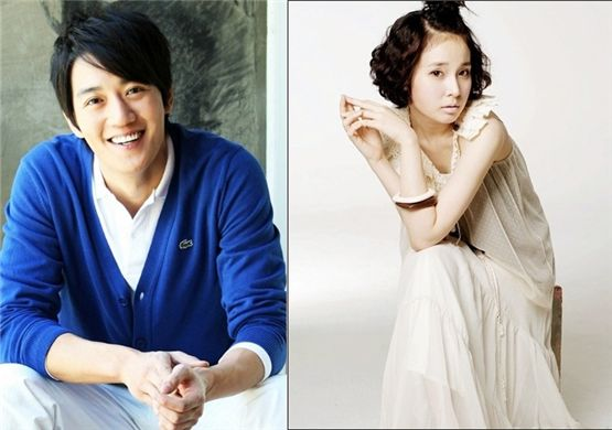Kim Rae-won (left) and Jo An (right) [Bliss Entertainment]