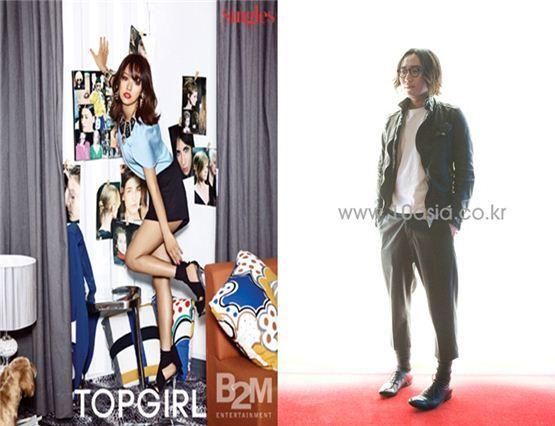 Lee Hyo-ri and Jung Jae-hyung [B2M Entertainment/10Asia]