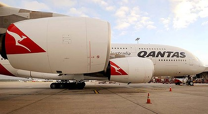 호주 콴타스의 'A380'