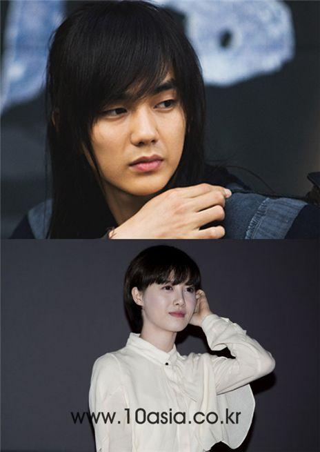 Actor Yoo Seung-ho (top) and actress and director Ku Hye-sun (bottom) [SBS/10Asia]