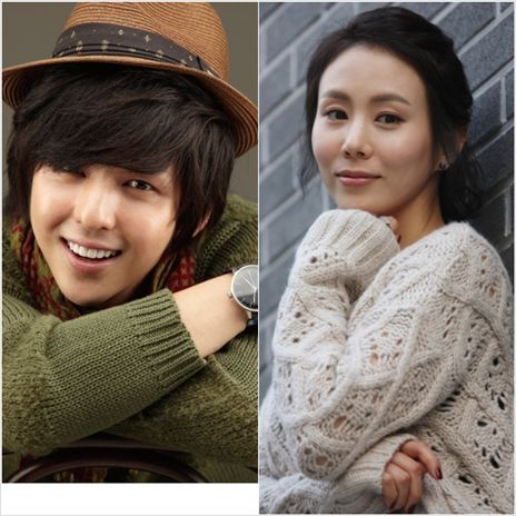 Super Junior's member Kim Ki-bum and actress Park Ye-jin [CJ E&M]
