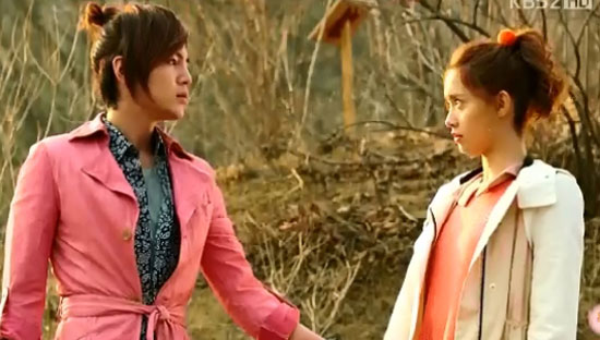 """A scene from KBS' """"Love Rain"""" [KBS]"""