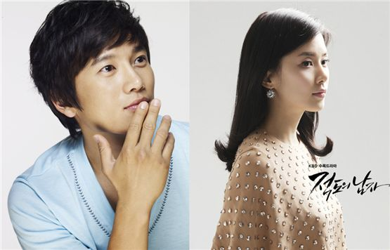 Ji Sung (left) and Lee Bo-young (right) [Namoo Actors/KBS]