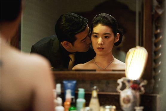 """A still cut of Bae Soo-bin (left) in """"Secret Recipe"""" [Lotte Entertainment]"""