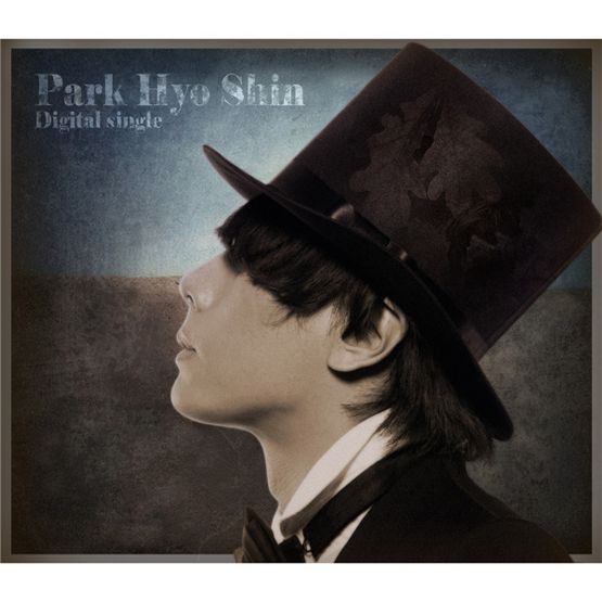 "Korean solo artist Park Hyo-shin poses in the cover photo of his 2010 digital single ""Goodbye Love,"" released on September 13, 2010. [Jellyfish Entertainment]"