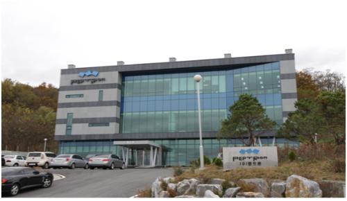 대전 대덕특구 벤처기업 펩트론 사옥 전경