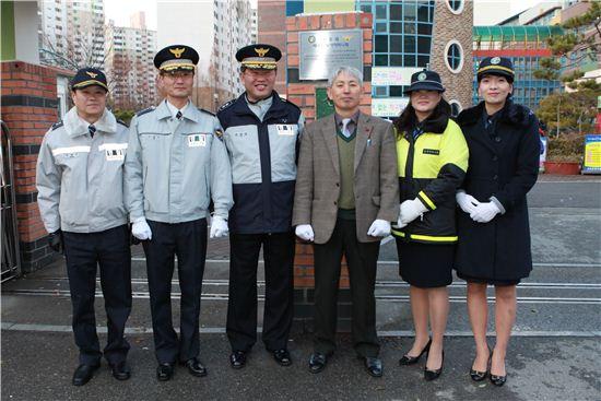 광주경찰청, 베스트 녹색어머니회 인증패 전달