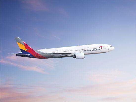 아시아나항공기