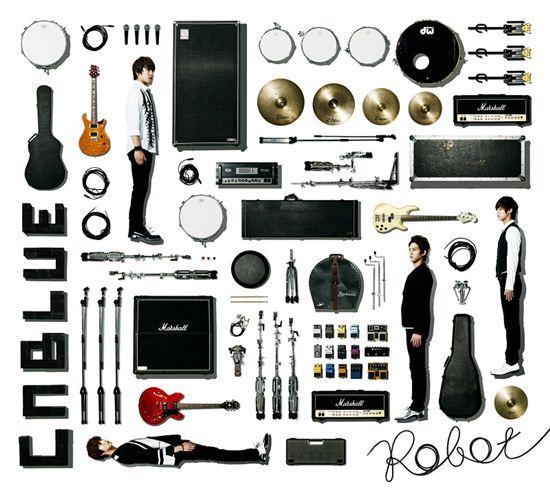 씨엔블루, 정용화 자작곡 '로봇'으로 '오리콘 2위' 달성