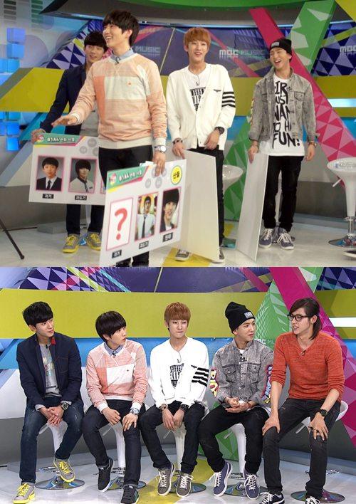 산들 과거사진/출처: MBC뮤직 'All the K-pop'