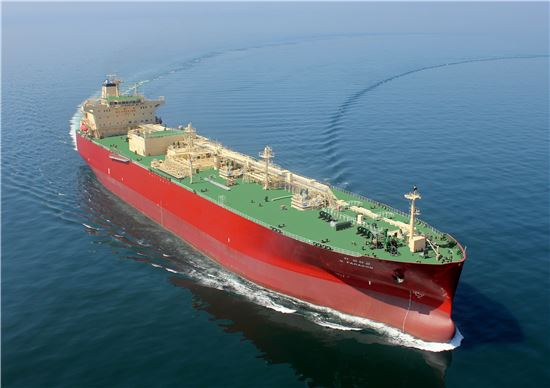 SK해운의 친환경 초대형 LNG선(사진=아시아경제 DB)