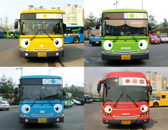 '타요버스' 전국 확산되나?…성남시 16일부터 도입 - 아시아경제