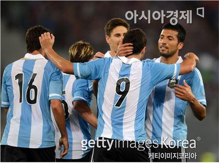 아르헨티나 대표팀[사진=Getty Images/멀티비츠]