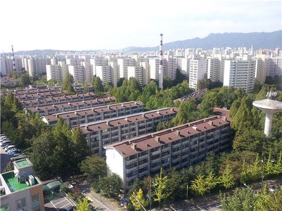 ▲ 상계동 주공아파트 단지 전경