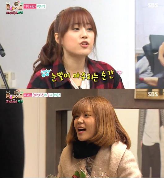 허영지, 친언니 공개 [사진=SBS '룸메이트' 방송 캡쳐]